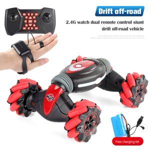 Ferngesteuertes Induktions-Stunt Spielzeugauto,ferngesteuerte Auto-Gesten-Induktionserkennung,Drift-Offroad-Spielzeugauto