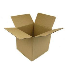 Karton 150x150x150 mm Versandkarton 100 Stück Faltkarton Umzugskarton Braun