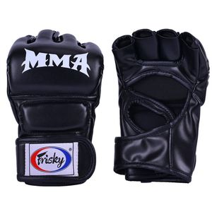 1 Paar Boxhandschuhe Farbe Schwarz