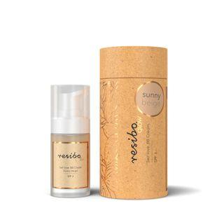 Resibo BB Creme (Getönte Tagescreme) Farbe Sunny Beige 30ml 100% Vegan - Naturkosmetik