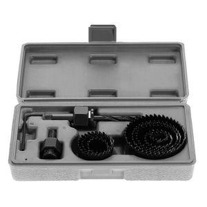 11pcs Lochsaege Kit Schneiden Bohrwerkzeuge Set Holz Metall Cutter 19-64mm