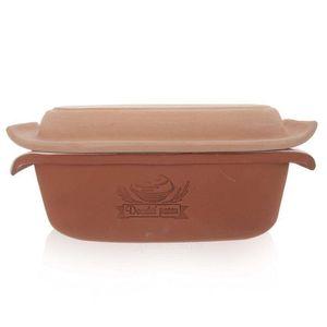 ORION Keramikform Backform zum Brotbacken mit Deckel