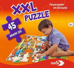 Noris Spiele XXL Puzzle Feuerwehr im Einsatz; 606038000