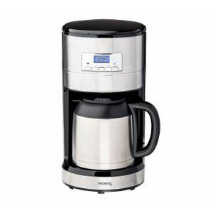 H.Koenig Timer-Kaffeemaschine mit Thermoskanne STW26