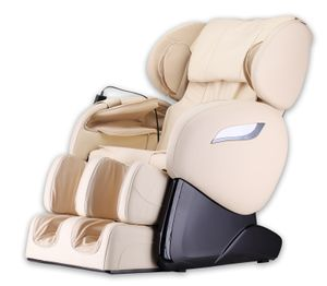 HOME DELUXE - Massagesessel SUENO V2 Beige Massagestuhl Relaxsessel Massagetherapie