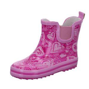 Sneakers Kinder-Gummistiefel Pink, Farbe:rot, EU Größe:20