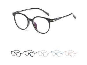 Blaulichtfilter Brillen Anti Blaulicht Brillen Ohne Sehstärke Damen Herren Computer Gaming Brillen Anti Müdigkeit Leicht Retro Brillengestelle mit Etui