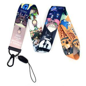 evebel Totoro Lanyard, Anime Spirited Away Lanyard, Schlüsselband Umhängeband für ID Card Ausweise/ Namensschilder/ Key/ Handy -H01