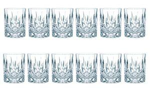 Nachtmann Noblesse Whiskybecher Set 8er Set Whiskyglas Kristallglas H 9.8 cm