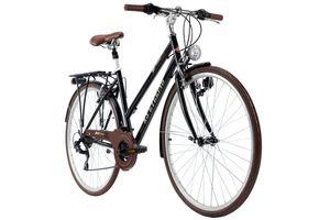 Trekkingrad Damen 28'' Venice Flachlenker schwarz RH 53 KS Cycling