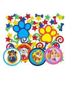 Nickelodeon konfetti Pfotenpatrouille 34 Gramm mehrfarbig