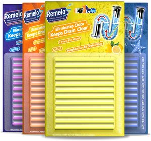 Abflussreiniger Sticks, 4 Stück / Set, Verhindert Fettansammlungen und Verstopfungen. Ungiftig, geeignet für Küche, Bad usw.