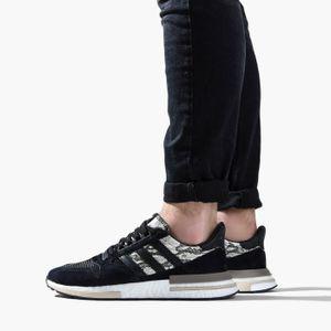 adidas Originals ZX 500 RM Herren Sneaker Schwarz Schuhe, Größe:43 1/3