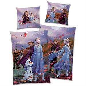 Disney Frozen 2  Die Eiskönigin Fairytale Bettwäsche Linon / Renforcé