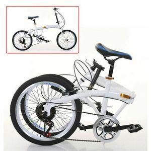 20''Faltrad Klapprad 7 Gang Doppel V Bremse Folding Fahrrad Höhenverstellbar DHL