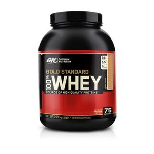 Optimum Nutrition 100 % Whey Gold Standard, 5 lb Dose Double Rich Chocolate