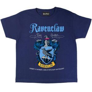 Harry Potter - Ravenclaw T-Shirt für Mädchen PG742 (158) (Marineblau)