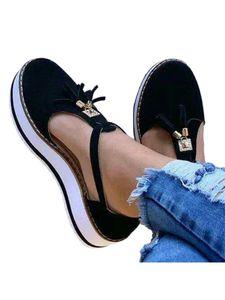 Abtel Damen Mode Sandalen Mit Fransen Wildleder Oberen Runden Zehen,Farbe:Schwarz,Größe:38
