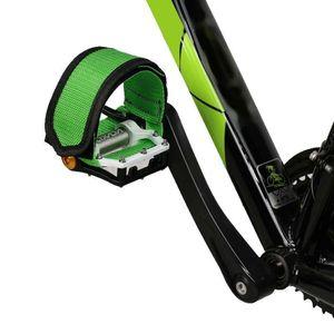 Fixie BMX Fixed Gear Fahrrad Fahrrad Klebeb?nder Pedal Zehenclip Riemen Gš¹rtel Cn