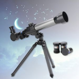 20-40X Astronomie Teleskop Kinderteleskop Science Experiment HD Okular Draussen Camping Notwendig