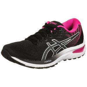 ASICS GEL-Cumulus 22 Laufschuh Damen Erwachsene schwarz / pink 40 EU -  UK - 8.5 US