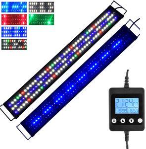 Lumiereholic 90CM LED Aquarium Beleuchtung Vollspektrum Lampe mit Timer, Für 90-110cm Tank