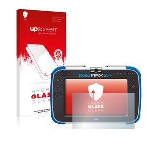 upscreen Hybrid Glass Clear Premium Panzerglasfolie für Vtech Storio Max XL 2.0