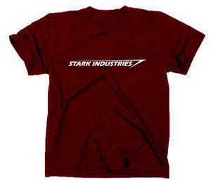 Styletex23 T-Shirt Stark Industries Logo, Iron Man, maroon, S