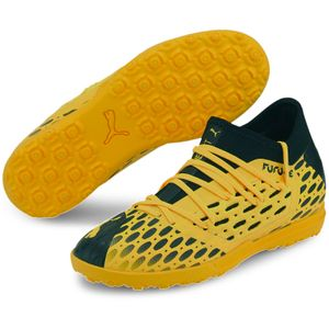 PUMA Future 5.3 Netfit TT Kinder Multinocken Fußballschuhe ultra yellow-PUMA black 36