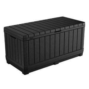 Keter Garten-Aufbewahrungsbox Kentwood 350L Anthrazit