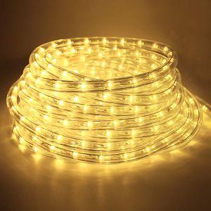 Speed 6m LED Lichtschlauch Innen Außen,Wasserfest WarmWeiß,Partylicht Dekobeleuchtung Weihnachten