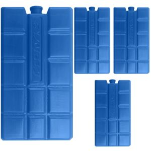 4 Stück Kühlelemente Kühlakkus Kühlakku 200ml Akku Kühlelement Kühlbox