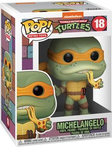 Teenage Mutant Ninja Turtles - Michelangelo 18 - Funko Pop! - Vinyl Figur