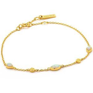 ANIA HAIE Opal Colour Bracelet - Silber/ Gold plattiert, B014-02G