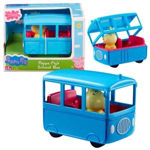 Auswahl Fahrzeuge | Peppa Wutz | Peppa Pig | Mit Figur und Zubehör, Figur:Schulbus