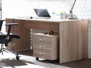 """Schreibtisch Bürotisch Computertisch Arbeitstisch Tisch Büromöbel """"Olli I"""" Sonoma-Eiche"""