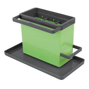 Metaltex Spülbecken-Organizer 24x13x14cm grün