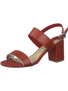 Marco Tozzi Damen Sandalette rot 2-2-28335-24 F-Weite Größe: 37 EU