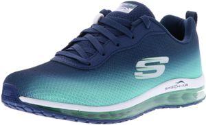 SKECHERS 12640/NVGR Skech-Air Element Damen Sneaker blau/türkis, Größe:37, Farbe:Blau