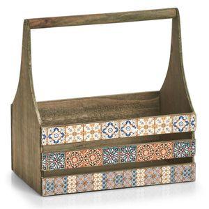 Deko-Kiste für Kräuter, MOSAIC, 31 x 19 x 32 cm, ZELLER - ZELLER