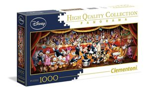 Clementoni puzzle PanoramaDisney Orchester 1000 Teile
