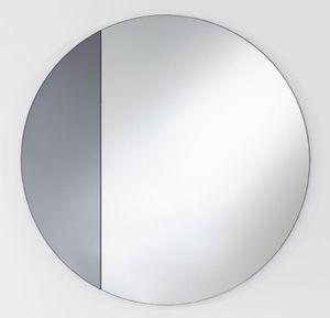 Casa Padrino Luxus Spiegel Grau Ø 58 cm - Designermöbel & Accessoires