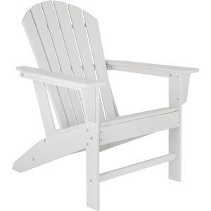 tectake Gartenstuhl Janis - weiß