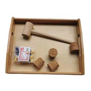 Hammerspiel Nagelspiele Holzspiel Pädagogisches Lernspielzeug Für Kinder