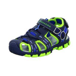 Sneakers Jungen-Sandalette Blau, Farbe:blau, EU Größe:26