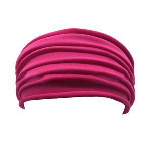 Frauen breite Sport Stirnband Stretch Yoga Running Gym Headwrap HairBand Mode