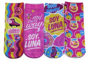 Disney Soy Luna 4er Pack Socken bunt (23/26)