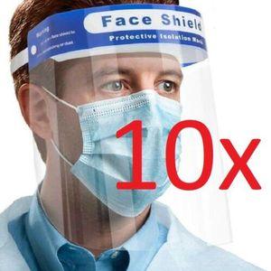 10x iCatcher Gesichtsschutz Face Shield Gesichtsmaske Schutzvisier Visier Maske Schutz