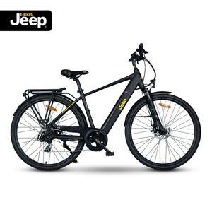 Jeep Trekking E-Bike TMR 7000, 28', Shimano Tourney 7-Gang Kettenschaltung, black