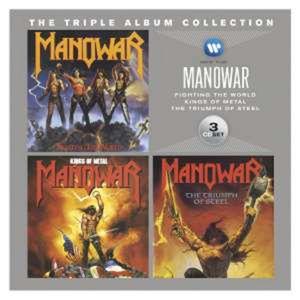 Manowar-The Triple Album Collection